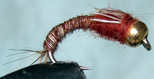 Cadillac Pheasant Tail Goldbead trout fly