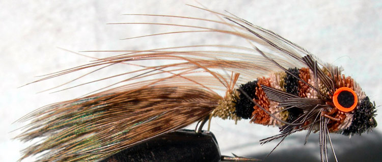 Deer Hair Sculpin trout fly