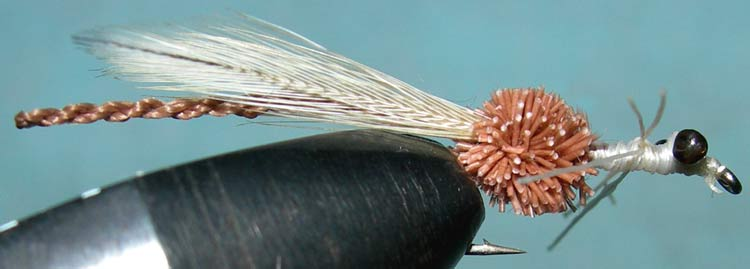 Dragonfly Adult tan trout fly