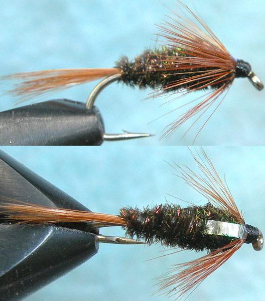 Franks Flashback trout fly