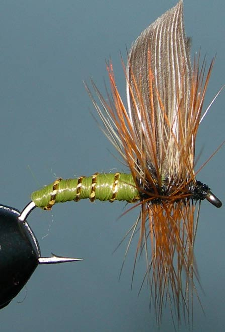 Greenwells Glory tailless trout fly