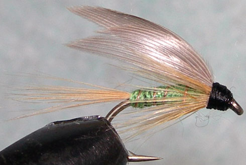 Greenwells Glory wetfly trout fly