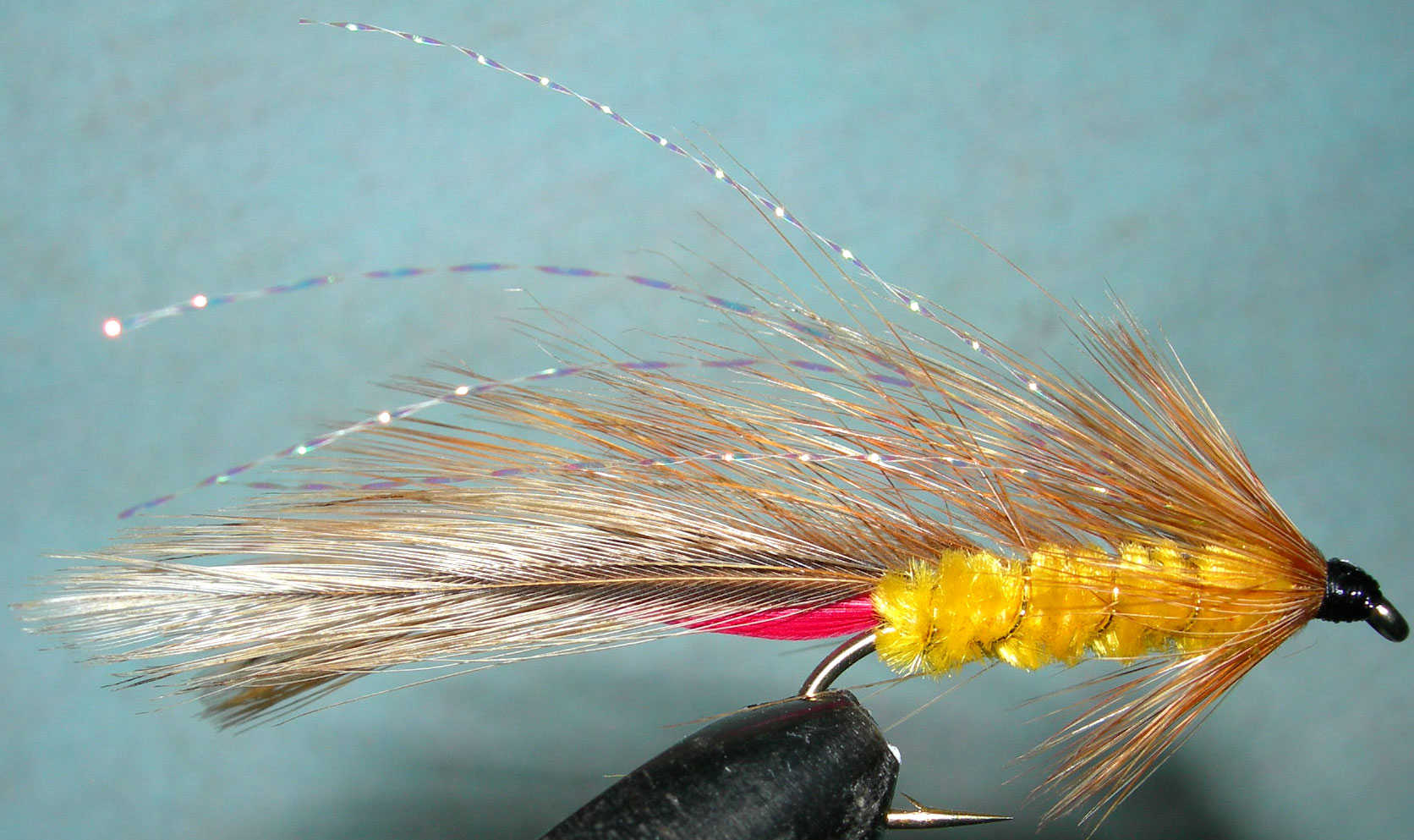 Parsons Glory Krystal Overwing trout fly