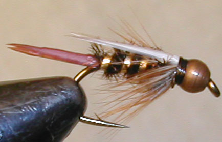 Prince Copperbead trout fly