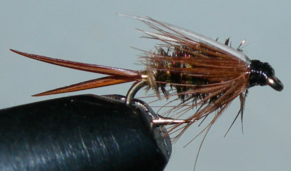 Prince beadless trout fly