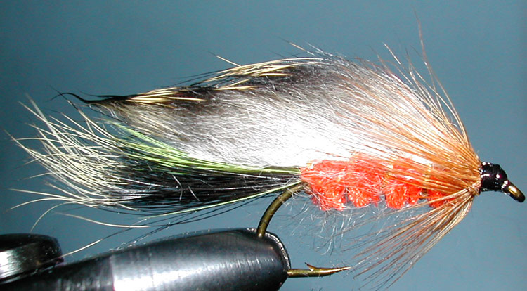 Rabbit BurntOrange trout fly