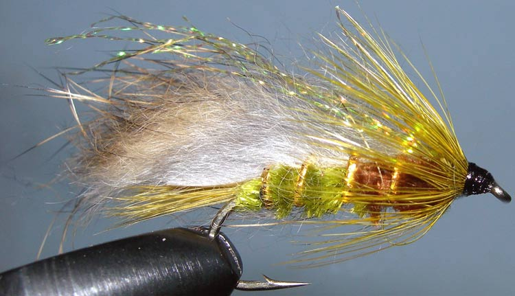 Rabbit Flashwing Olive trout fly