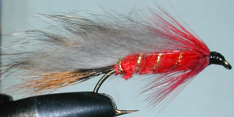 Rabbit Redhead red trout fly