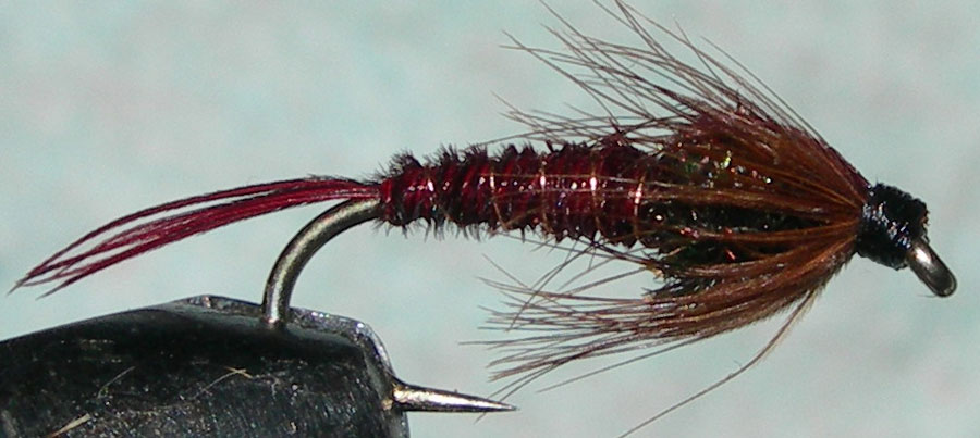 Red Pheasant Tail trout fly