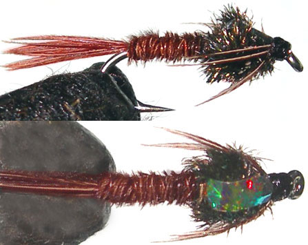 Red Pheasant Tail Flashback trout fly