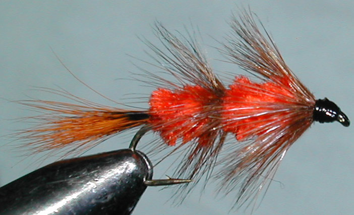 Red Setter Pup trout fly