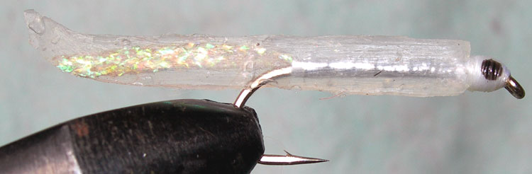 Silicone Smelt trout fly