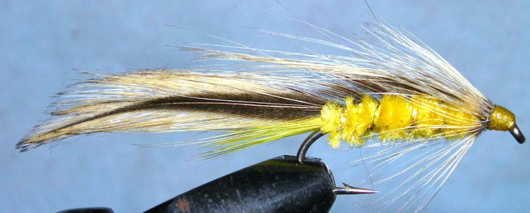 Taupo Tiger yellow trout fly