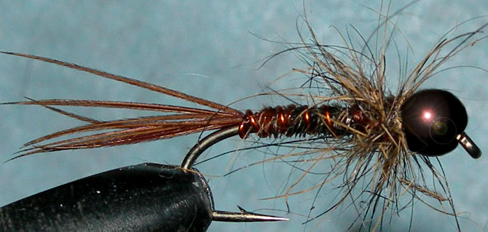 Tungsten Blackbead Pheasant Tail Hare Thorax trout fly