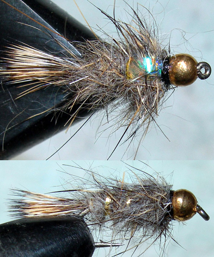 Tungsten Goldbead Goldribbed Hares Ear Flashback trout fly