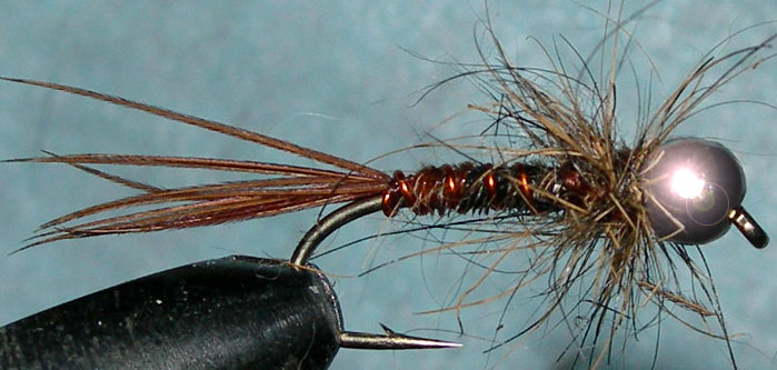 Tungsten Nickelbead Pheasant Tail Hare Thorax trout fly