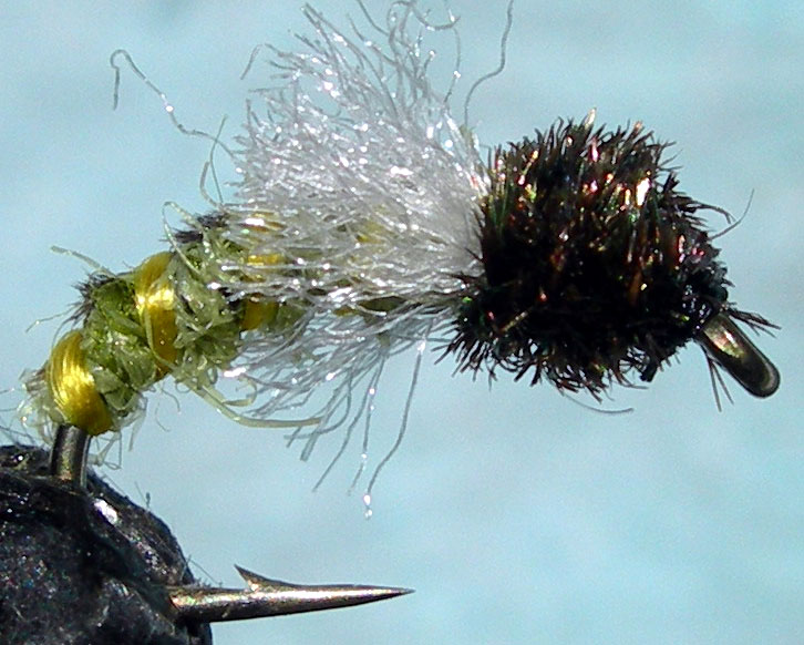 Z Wing Olive&Amber trout fly