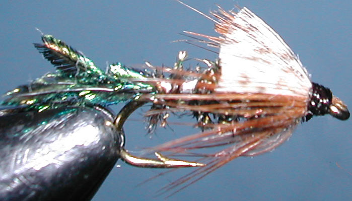 Zug Bug trout fly