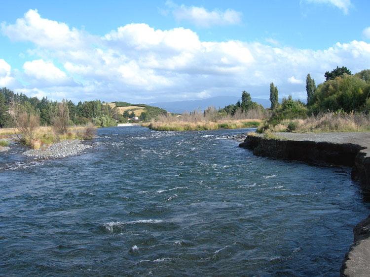 Tongariro River Crescent Reserve Pool, 6 pm Thursday 17 January 2017